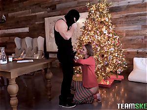 Christmas ass fucking ravaging for sweet Jillian Janson