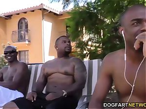 McKenzie Lee big black cock dp group sex