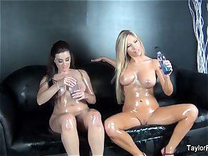 Taylor Vixen and Tasha pulverize