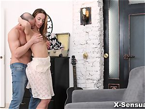 X-Sensual - Hazel Dew - Radiating satisfaction