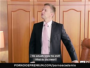 porn ACADEMIE Lana Rhoades loves ravaging French salami