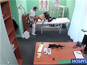 FakeHospital ample mounds stunner has a back problem