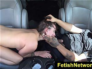 HelplessTeens Ashley Adams outdoor fuck-fest