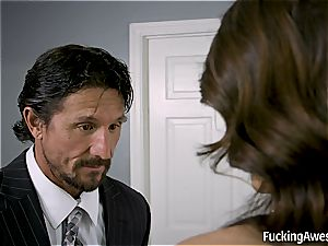 Adria Rae gets her tight culo disciplined for her crimes