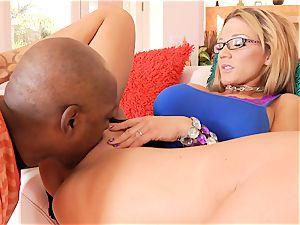 splendid cougar Nikki Sexx porks her super-fucking-hot black neighbor