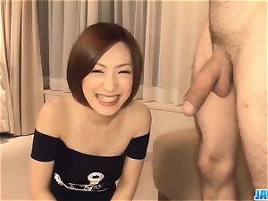 Subtitles - japanese stunner Nene Iino gargle manhood