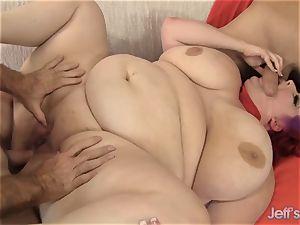 enormous Eliza Allure Gets double pounded