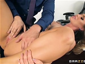 assistant Nicole Aniston fucked in the pussyhole