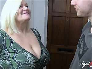 AgedLovE xxx with super hot Mature Lacey Starr