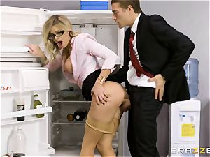 Office porno with horny fresh assitant Jessa Rhodes and her phat boss Keiran Lee