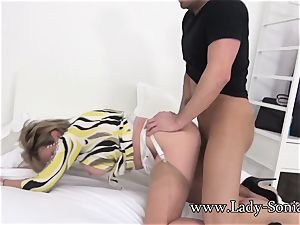 Spanish Fly In doll Sonia's Tea Gets Her mischievous As pummel