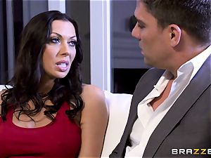 Rachel Starr romping her husbands hot suited manager