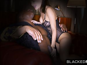 BLACKEDRAW wifey loves his immense black pecker a lil' too much