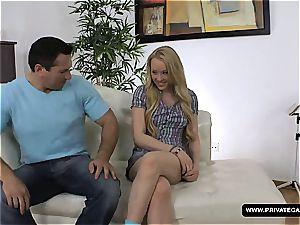 Lola Taylor anal invasion audition vignette
