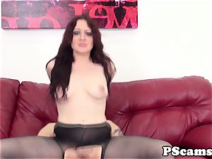 red-haired cam babe Jessica Ryan pussyfucked