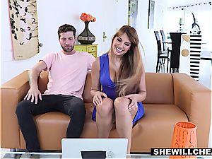 SheWillCheat - successful Kid plumbs warm Latina cougar