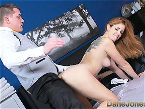 Dane Jones mischievous wifey pounded by apartment service