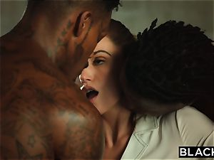 BLACKED Tori ebony Is well-lubed Up And dominated By 2 BBCs