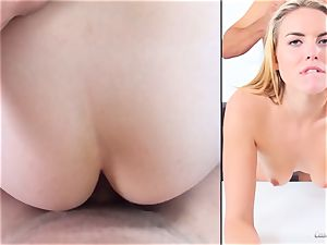 Keira Nicole shows her talents at her audition