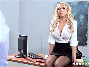 fabulous office honey Alix Lynx takes a 2nd helping