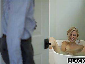 BLACKED light-haired girlfriend Alexa grace Cheats with big black cock