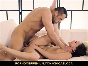 CHICAS LOCA super-steamy Amirah Adara insane sex and facial cumshot