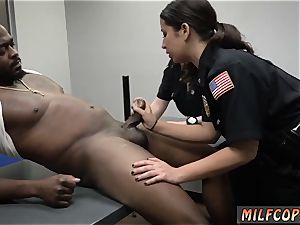 fledgling housewife double and dark-hued woman humungous ass anal white guy milf Cops