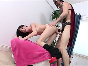 dual pummeling with super-sexy Aletta Ocean