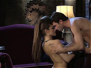 Dani Daniels implementing cogs and schlongs in her steampung dream