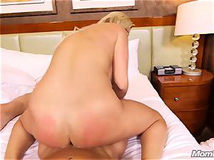 super hot Swedish blondie pounds 2 ginormous boners