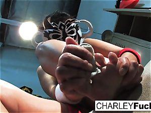 Charley Lucha Libre sole Fetish