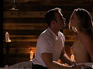 Mona Wales has a romantic enjoy session with her sexy boy