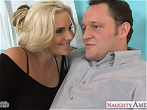Glamourous Phoenix Marie prepared for rod in her rosy cunt