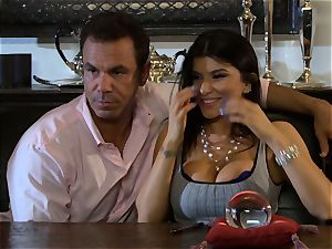 Romi Rain is thanked with a enormous weenie romping