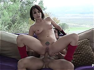 muddy Dana gets her ass-hole loped from behind