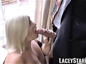 LACEYSTARR - naughtiest grandmother analled before money-shot