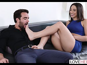 warm sole hook-up With My Sisters hotwife boyfriend