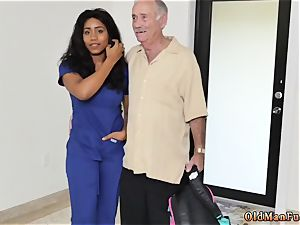 elderly man meat young booty Glenn ends the job!