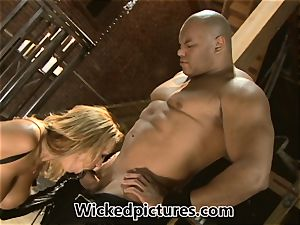 Fetish plumbing with freaky stunner Trina Michaels