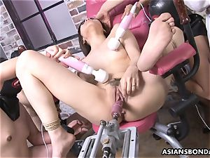 humping her with a intercourse machine and victims go bananas