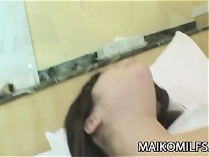 Megumi Muroi - asian cougar poked By Co-Worker