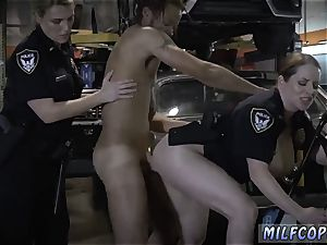Police officer romps nubile and cougar likes manmeat Chop Shop proprietor Gets Shut Down
