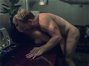 Horror fetish porn. The scanty housewife Romi Rain was ambushed