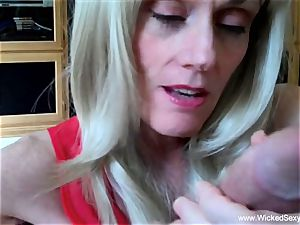 2 spears For first-timer GILF mother