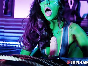 Guardians of the green labia with Cassidy Klein