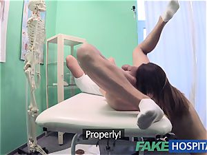 FakeHospital filthy doc penetrates thief and creampies her
