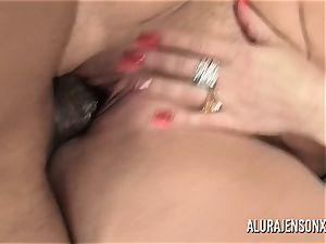 thick bap adult movie star Alura Jenson luvs meaty ebony shaft