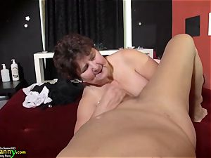 OldNannY huge-titted plumper elder Mature granny Compilation