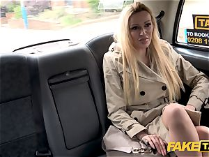 fake cab Driver gets more than a showcase by Amber Jayne