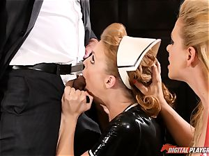 gash hammering the super-naughty fuck-fest marionette maid Britney Amber